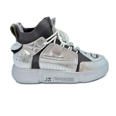 Кроссовки Allshoes 50208 ZL 556125 Серебристые