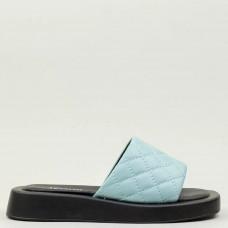 Шлёпанцы женские 579089 Голубые