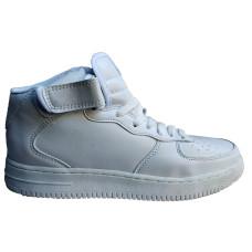 Кроссовки высокие белые High Top