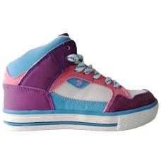 Высокие кроссовки для девочки